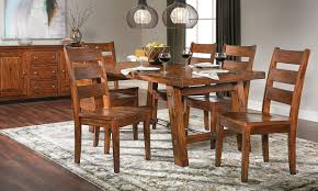 Tuscany Mahogany Dining Set Haynes Furniture Virginias - Mahogany dining room sets
