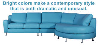 Blue Leather Sofa by The Leather Sofa Co Mobile Friendly