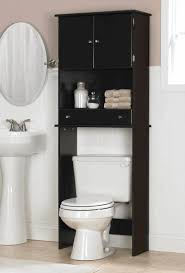 over the toilet space saver white glossy ceramic free standing