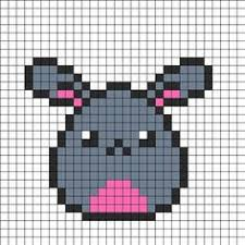 kawaii bunny perler bead pattern bead sprite diy and crafts
