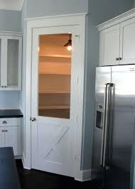 kitchen pantry doors ideas pantry door ideas view in gallery aqua door in rustic kitchen cool