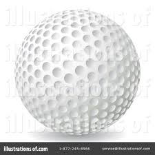 golf ball clipart 1055664 illustration by milsiart