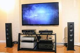home theater tower speakers pioneer fs52 andrew jones design tower speakers playing evie sands