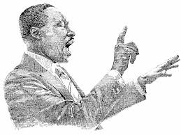 in search of martin luther king jr design graphic design