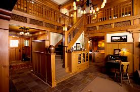 arts and crafts home interiors arts crafts cottage craftsman staircase minneapolis by