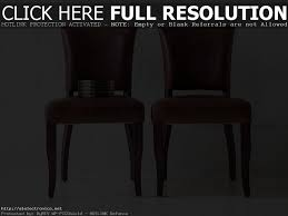 Genuine Leather Dining Room Chairs by Furniture U0026 Accessories How To Decorate A Round Dining Table