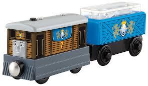 amazon com fisher price thomas wooden railway toby u0027s royal