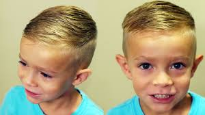 hairstle longer in front than in back how to cut boys hair trendy boys haircut tutorial youtube