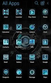 atom launcher apk black mechanic atom theme android apps on play