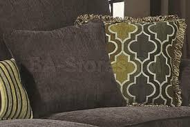 674 10 colton smokey grey chenille sofa with rolled arms and