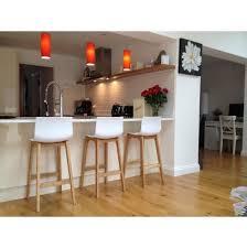 drift oak u0026 white bar stool bar stool stools and bar