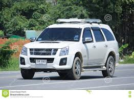 land rover thailand private suv car isuzu mu 7 mu7 editorial stock image image