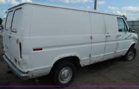 1989 ford econoline e150 cargo van item i3365 sold sept