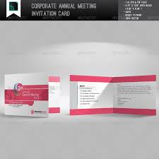 business inauguration invitation card sample corporate annual meeting invitation card by ideaz sabbir