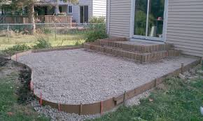 Concrete Ideas For Backyard Concrete Backyard Diy Home Outdoor Decoration