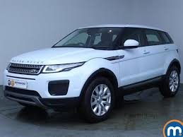 range rover blue and white used land rover range rover evoque white for sale motors co uk