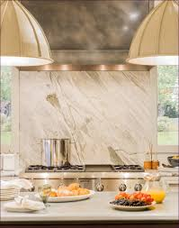 kitchen room magnificent white tumbled marble backsplash marble