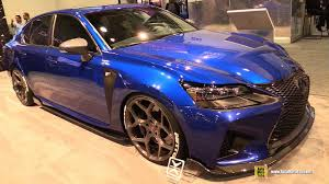 lexus gsf interior 2017 lexus gsf enhanced body exterior walkaround sema 2016