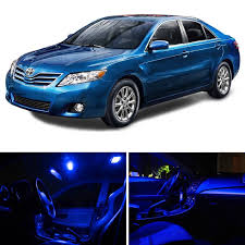 lexus interior light bulbs 9x blue led interior dome trunk license light package for 1997