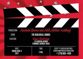 invitations hooray for hollywood pinterest rehearsal