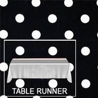 red white polka dot table covers shop premium polka dot table linens razatrade