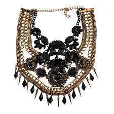 fashion statement collar necklace images Vedawas fashion jewelry maxi necklace for women new hot rhinestone jpg