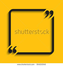 Business Card Sheet Template Vector Quote Blank Template Quote Square Stock Vector 583752211
