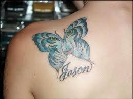 butterfly tattoos with names butterfly pictures