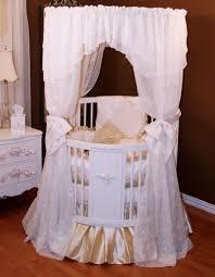 Convertible Crib Bedding by Bedroom Unique Nursery Decor With Cozy Round Cribs U2014 Nadabike Com