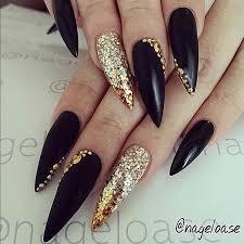 30 creative stiletto nail designs stilettos creative and gold
