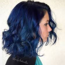 saphire black hair 20 dark blue hairstyles that will brighten up your look