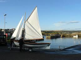 mike lowson builds a ply interpretation of a shetland fishing boat