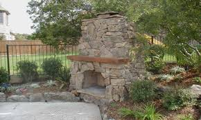 outdoor stone fireplace building an outdoor stone fireplace