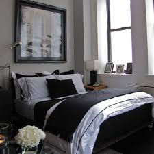 bedroom elegant bachelor loft in small apartment area and
