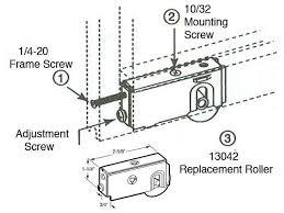 glass sliding door replacement patio sliding door roller 1 1 2 wheel n a see notes