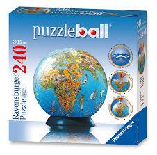 World Map Globe by Amazon Com Ravensburger Illustrated World Map 240 Piece