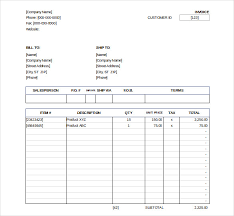 Invoice Template Excel Free Sales Invoice Template Excel Free Invoice Sle Template