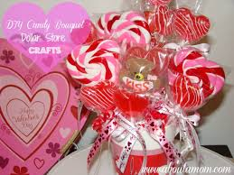 How To Make A Candy Bouquet Diy Candy Bouquet For Valentine U0027s Day And More Dollar Store Crafts
