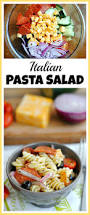 Homemade Pasta Salad by Italian Pasta Salad
