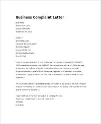 business complaint letter complaint letter to a business 2017