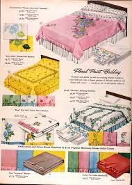 vintage sears bedspread sears catalog highlights spring summer