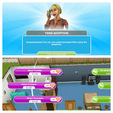 the sims freeplay teenagers quest the who games