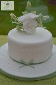70th birthday cakes 70th birthday cake with white sugar roses bakeoftheweek casa