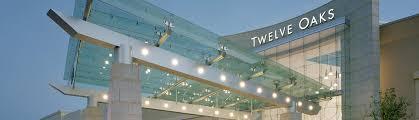 twelve oaks mall taubman properties taubman