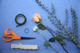 how to make boutonnieres how to make a boutonniere elizabeth designs the wedding