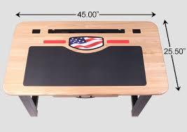 baylor university college desk in solid ash caretta workspace