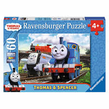 Spencer Gifts Halloween by Thomas U0026 Friends Thomas And Spencer Puzzle 60 Pieces Walmart Com