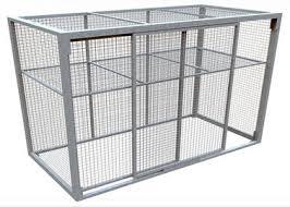 rete metallica per gabbie gabbie di stoccaggio della rete metallica sulle vendite qualit罌
