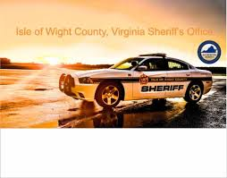 Sle Of Bill Of Sale For A Car by Isle Of Wight County Sheriff S Office Home