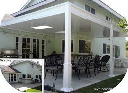 Elitewood Aluminum Patio Covers Advantages Of Vinyl Patio Covers Over Aluminum Http Vinyl
